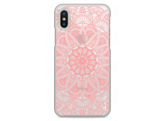 Coque iPhone X Pink Mandala