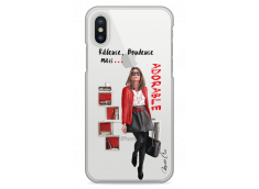 Coque iPhone X Râleuse, Boudeuse mais Adorable