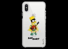 Coque iPhone XS MAX Super Bat Bart Simpson cartoon design