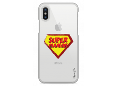 Coque iPhone XS MAX Super Maman - design