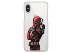 Coque iPhone XR Deadpool 2 Watercolor design