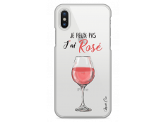 Coque iPhone X J'ai rosé