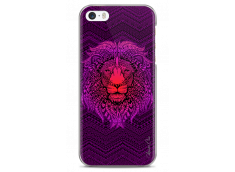 Coque iPhone 5C Power Pink Lion Mandala