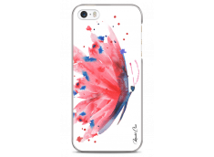 Coque iPhone 5C Paint watercolor butterfly