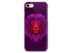 Coque iPhone 7/8 Power Pink Lion Mandala