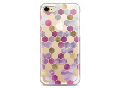 Coque iPhone 7/8 Purple Cubic