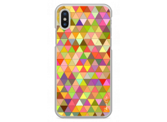 Coque iPhone X Abstract Geometric Pattern