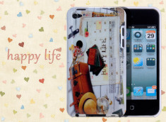 Coque iPod Touch 4 Happy Life