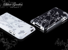 Coque iPod Touch 4 Silver Garden