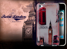 Coque iPod Touch 4 Retro London
