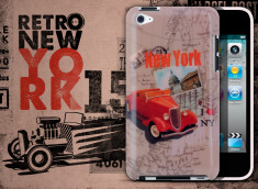 Coque iPod Touch 4 Retro New York