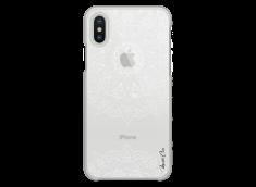 Coque iPhone XS MAX White Mandala design
