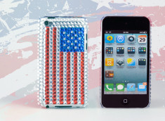 Coque iPod Touch 4 US Strass