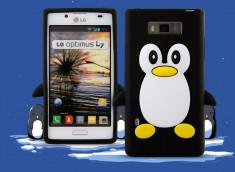 Coque LG Optimus L7 Pingouin