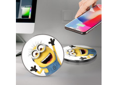 Chargeur Premium Induction QI 10W Minions
