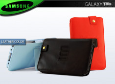 "Etui Galaxy Tab P1000 ""Leather Color"""
