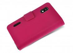 Etui LG L5 Pink Wallet