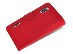 Etui LG L5 Red Wallet