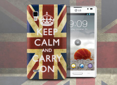 Coque LG Optimus L9 UK Keep Calm