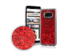 Coque iPhone 6 Plus/6S Plus Liquid-Rouge