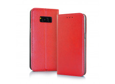 Etui Samsung Galaxy J6 2018 Smart Magnetic-Rouge