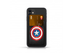 Sticker DC POCKET Porte-Carte Captain America