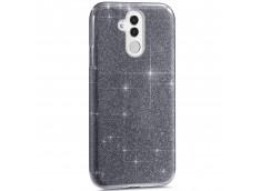 Coque Huawei Mate 20 Lite Glitter Protect-Noir