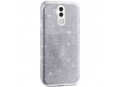 Coque Huawei Mate 20 Lite Glitter Protect-Argent