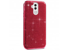 Coque Huawei Mate 20 Lite Glitter Protect-Rouge