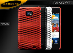 "Coque Galaxy S II i9100 ""Neo Grid"""