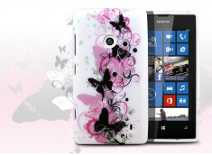 Coque Nokia Lumia 520 - Butterfly flex
