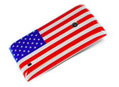 Coque Nokia Lumia 520 USA Flag