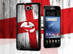 Coque Samsung Galaxy Note 1 Lips Coupe du Monde 2014-Angleterre