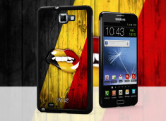 Coque Samsung Galaxy Note 1 Lips Coupe du Monde 2014-Belgique