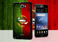 Coque Samsung Galaxy Note 1 Lips Coupe du Monde 2014-Portugal