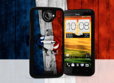 Coque HTC One X Lips Coupe du monde 2014-France