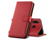 Etui Huawei Y5 2019 Leather Wallet- Rouge