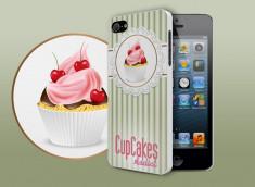 Coque iPhone 5/5S Cupcakes Addict