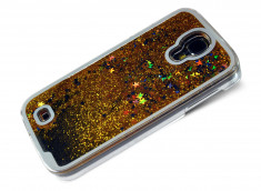 Coque Samsung Galaxy S4 Glitter and Stars-Or