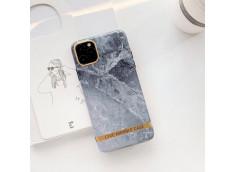 Coque iPhone 7/8/SE 2020 Silicone Marble Grey