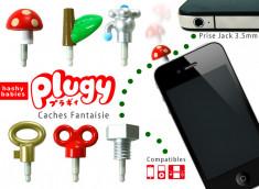 Cache Fantaisie Prise Jack 3.5mm Plugy