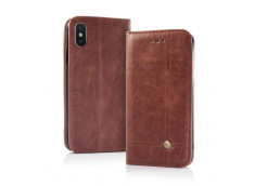 Etui iPhone X/XS Smart Prestige-Marron
