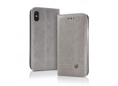 Etui iPhone X/XS Smart Prestige-Gris