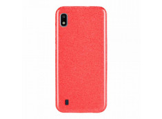 Coque Samsung Galaxy A10 Glitter Protect-Rouge