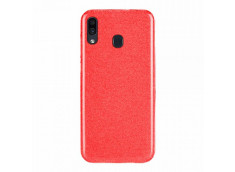 Coque Samsung Galaxy A30 Glitter Protect-Rouge