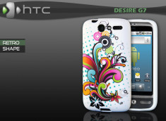 "Coque HTC Desire G7 ""Retro Shape"""