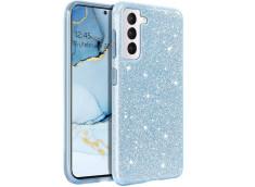Coque Samsung Galaxy S21 Ultra Glitter Protect-Bleu