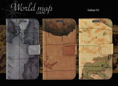 Etui Samsung Galaxy S3 - World Map