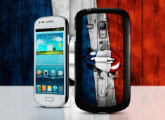 Coque Samsung Galaxy S3 mini Lips Coupe du Monde 2014-France