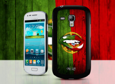 Coque Samsung Galaxy S3 mini Lips Coupe du Monde 2014-Portugal